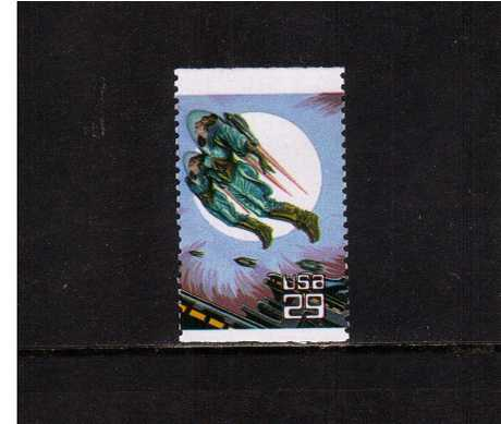 view larger image for  : SG Number 2772 / Scott Number 2743 (1993) - Space Fantasy - Astronauts<br/>Booklet single