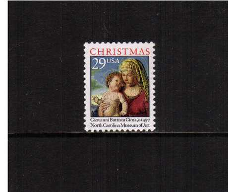 view larger image for  : SG Number 2848 / Scott Number 2789 (1993) - Christmas - Madonna & Child