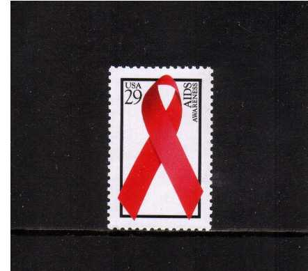 view larger image for  : SG Number 2870 / Scott Number 2806 (1993) - Aids Awareness