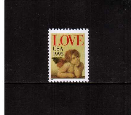 view larger image for  : SG Number 2992 / Scott Number 2948 (1995) - LOVE Cherub<br/>