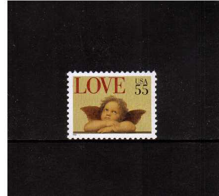 view larger image for  : SG Number 3036 / Scott Number 2958 (1995) - LOVE Cherub