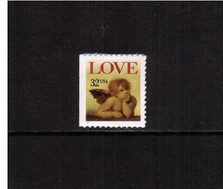 view larger image for  : SG Number 3038 / Scott Number 3030 (1996) - LOVE Cherub <br> 