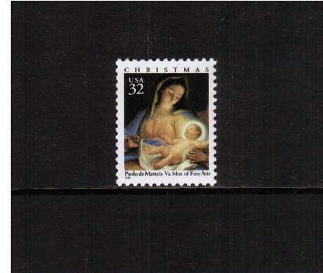 view larger image for  : SG Number 3268 / Scott Number 3107 (1996) - Christmas - Madonna and Child