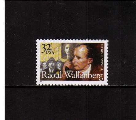 view larger image for  : SG Number 3284 / Scott Number 3135 (1997) - Raoul Wallenberg