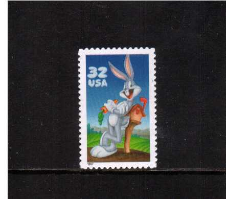 view larger image for  : SG Number 3300 / Scott Number 3137a (1997) - 'Looney Tunes' -
