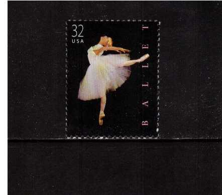 view larger image for  : SG Number 3511 / Scott Number 3237 (1998) - American Ballet