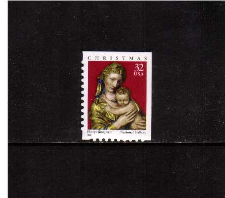 view larger image for  : SG Number 3518 / Scott Number 3244 (1998) - Christmas - Madonna and Child <br/>