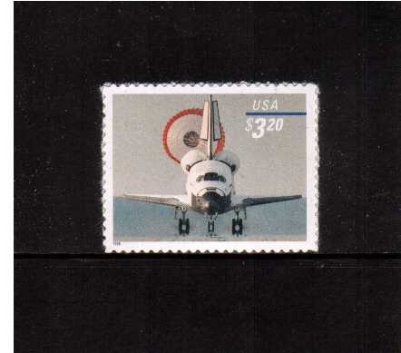 view larger image for  : SG Number 3538 / Scott Number 3261 (1998) - Space Shuttle Landing