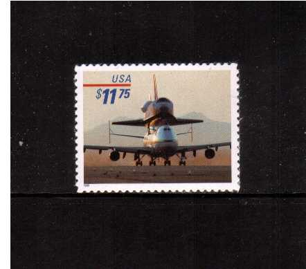 view larger image for  : SG Number 3539 / Scott Number 3262 (1998) - Piggyback Space Shuttle<br/><br/> 