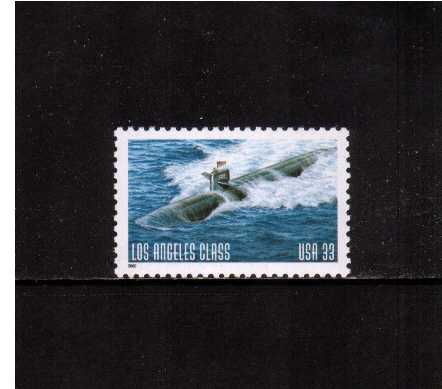 view larger image for  : SG Number 3742 / Scott Number 3372 (2000) - Submarines - Los Angeles Class <br/>Sheet stamp