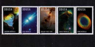 view larger image for  : SG Number 3758a / Scott Number 3388a (2000) - Hubble Space Images<br/>