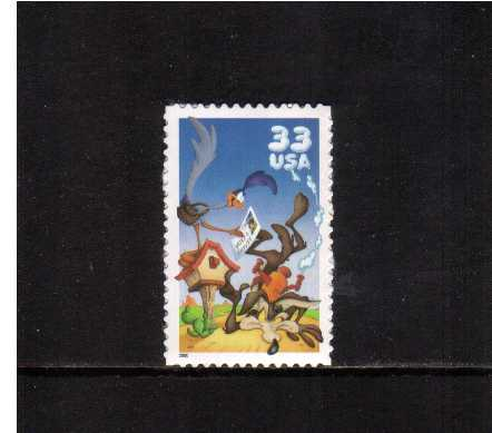 view larger image for  : SG Number  / Scott Number 3391a (2000) - 'Looney Tunes' - Road Runner<br/>