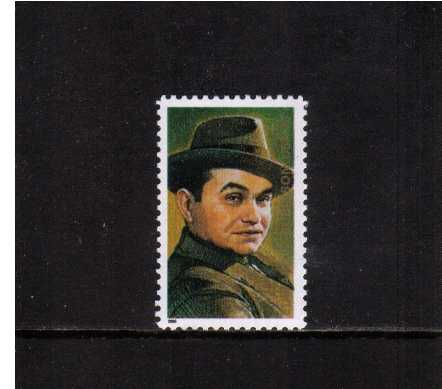 view larger image for  : SG Number 3871 / Scott Number 3446 (2000) - Legends of Hollywood - Edward G. Robinson