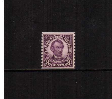 view larger image for  : SG Number 606 / Scott Number 600 (1924) - Abraham Lincoln<br/>