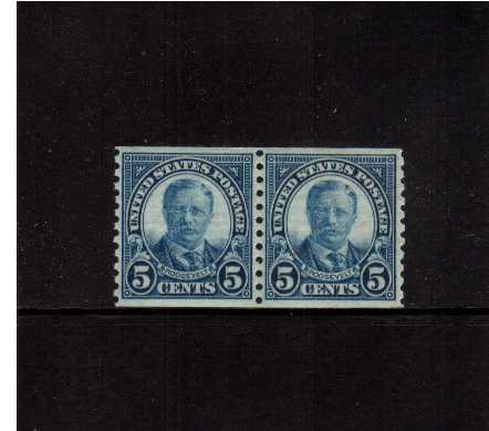 view larger image for  : SG Number 608pr / Scott Number 602pr (1924) - Theodore Roosevelt<br/>