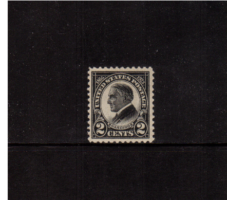 view larger image for  : SG Number 614 / Scott Number 610 (1923) - President Harding<br/>Flat Press<br/>Perforation 11