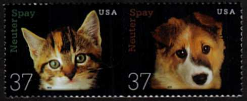 view larger image for  : SG Number 4183a / Scott Number 3671a (2002) - Neuter & Spay