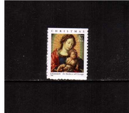 view larger image for  : SG Number 4185 / Scott Number 3675 (2002) - Madonna and Child - Booklet single <br/>19x27mm -  Dated '2002'