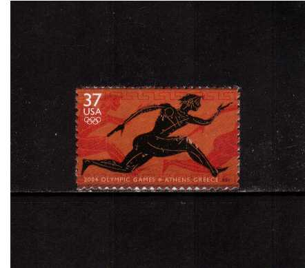 view larger image for  : SG Number 4369 / Scott Number 3863 (2004) - Summer Olympic Games - Athens <br/>