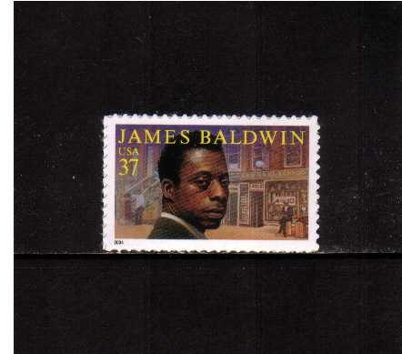 view larger image for  : SG Number 4376 / Scott Number 3871 (2004) - Literary Arts - James Baldwin <br/>