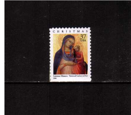view larger image for  : SG Number 4396 / Scott Number 3879 (2004) - Christmas, Madonna & Child - Booklet single