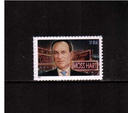 view larger image for  : SG Number 4399 / Scott Number 3882 (2004) - Moss Hart - Playwright