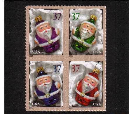 view larger image for  : SG Number 4400a / Scott Number 3886a (2004) - Christmas - Holiday Ornaments<br/>