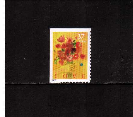 view larger image for  : SG Number 4415 / Scott Number 3898 (2005) - Love Bouquet - booklet single<br/>