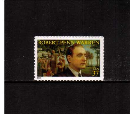 view larger image for  : SG Number 4421 / Scott Number 3904 (2005) - Robert Penn Warren -  Pulitzer Winner<br/>