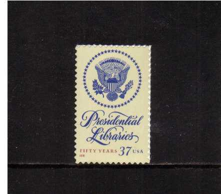 view larger image for  : SG Number 4458 / Scott Number 3930 (2005) - Presidential Libraries<br/>