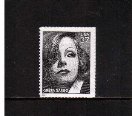 view larger image for  : SG Number 4481 / Scott Number 3943 (2005) - Greta Garbo