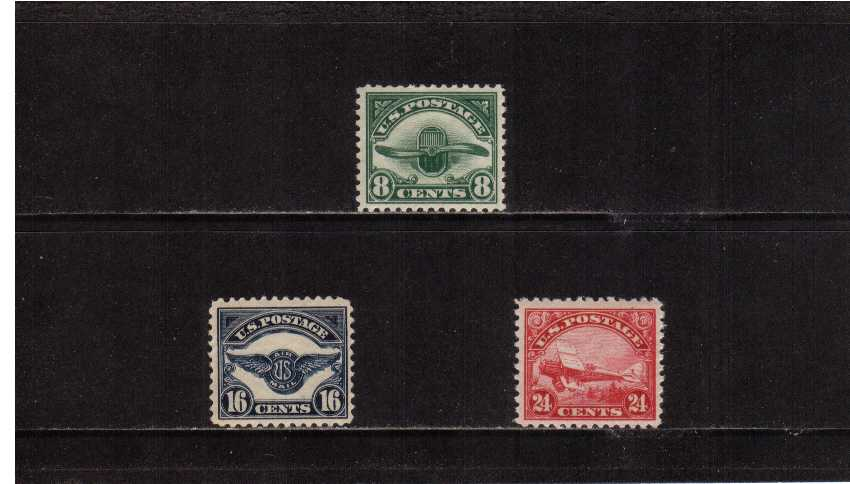 view larger image for  : SG Number A614-A617 / Scott Number C4-C6 (1923) - Air Mails <br/>