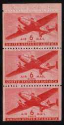 view larger image for Airmails Airmails: SG Number A901b / Scott Number  (1943) - Mail Plane<br/>