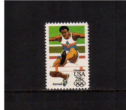 view larger image for Airmails Airmails: SG Number A2035 / Scott Number 28c (1983) - Olympics - Hurdles