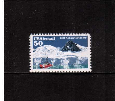 view larger image for Airmails Airmails: SG Number A2587 / Scott Number 50c (1991) - Antarctic Treaty