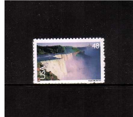 view larger image for Airmails Airmails: SG Number A3600 / Scott Number 48c (1999) - Niagra Falls - New York<br/><br/> Self Adhesive