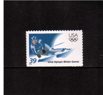 view larger image for Commemoratives 2006 - 2007 - Later Period Commemoratives: SG Number 4534 / Scott Number 39c - 11 January 2006 (2006) - Winter Olympics - Turin, Italy