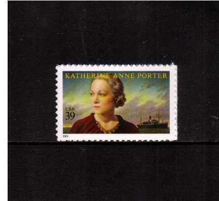 view larger image for Commemoratives 2006 - 2007 - Later Period Commemoratives: SG Number 4572 / Scott Number 39c - 15 May 2006 (2006) - Literary Arts - Katherine Anne Porter