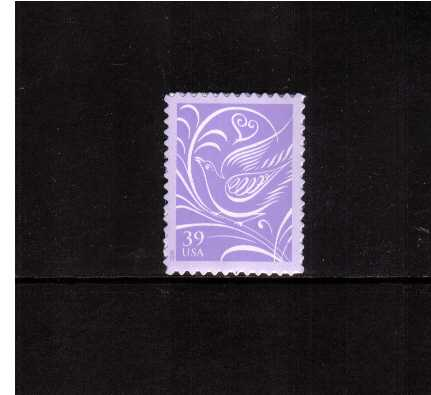 view larger image for Commemoratives 2006 - 2007 - Later Period Commemoratives: SG Number 4540 / Scott Number 39c - 1 March 2006 (2006) - 'Wedding Doves'<br/>