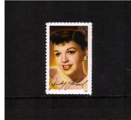view larger image for Commemoratives 2006 - 2007 - Later Period Commemoratives: SG Number 4619 / Scott Number 39c - 10 June 2006 (2006) - Legends of Hollwood - Judy Garland