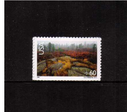 view larger image for Airmails Airmails: SG Number  / Scott Number 60c (2005) - Acadia National Park<br/>