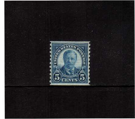 view larger image for  : SG Number 608 / Scott Number 602 (1924) - Theodore Roosevelt<br/>