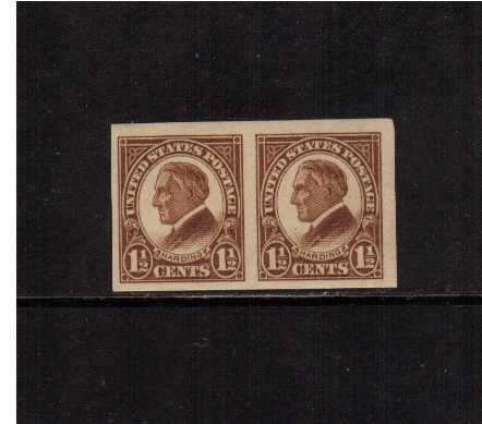 view larger image for  : SG Number  / Scott Number 631v (1926) - Warren G. Harding<br/>