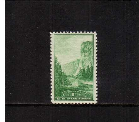 view larger image for Commemoratives 1934-35 National Parks - Early Period Commemoratives: SG Number 739 / Scott Number 1c (1934) - Yosemite
