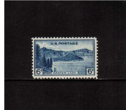 view larger image for Commemoratives 1934-35 National Parks - Early Period Commemoratives: SG Number 744 / Scott Number 6c (1934) - Crater Lake
