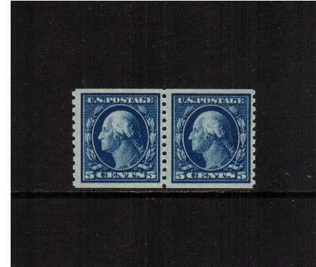 view larger image for  : SG Number 454pr / Scott Number 447pr (1914) - George Washington<br/>