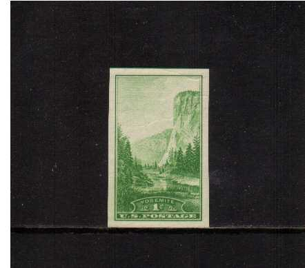 view larger image for Commemoratives 1934-35 National Parks - Early Period Commemoratives: SG Number 755 / Scott Number 1c (1935) - Yosemite 