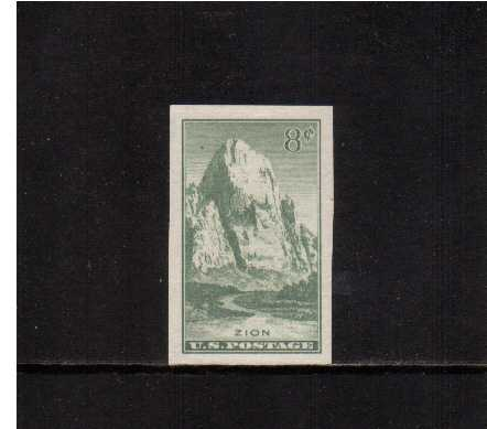 view larger image for Commemoratives 1934-35 National Parks - Early Period Commemoratives: SG Number 762 / Scott Number 8c (1935) - Zion