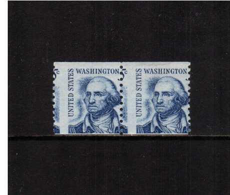 view larger image for  : SG Number 1281var / Scott Number 1304var (1966) - George Washington<br/>