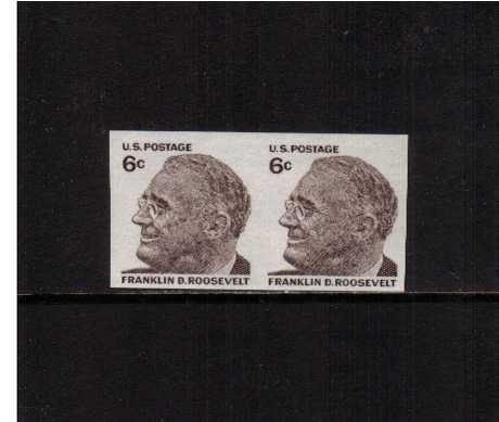 view larger image for  : SG Number 1282a / Scott Number 1305a (1968) - Franklin D. Roosevelt